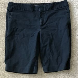Navy women's Banana Republic shorts